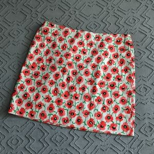 J. Crew Poppy Skirt size 2